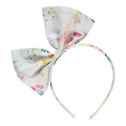 No Added Sugar Jaunty Floral Bow Headband-listing