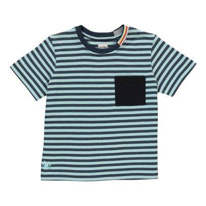 No Added Sugar Pocketbook Striped T-Shirt-listing