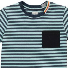 No Added Sugar Pocketbook Striped T-Shirt-listing