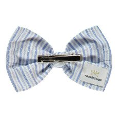 No Added Sugar Perky Striped Bow Hair Grips-listing