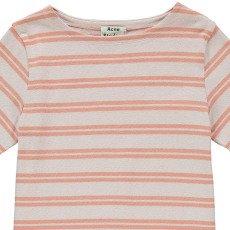 Acne Studios Dodora Striped Mini Dress-listing