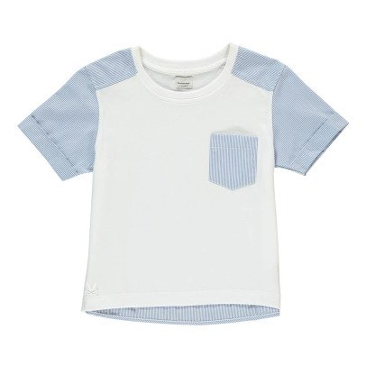 No Added Sugar T-Shirt Bi-Matières Rayé Untucked-listing