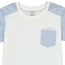 No Added Sugar Gestreiftes T-Shirt Untucked-listing