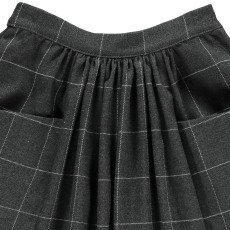 Noro Pia Checked Skirt Dark grey-listing