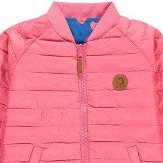 Mini Rodini Reversible Heart Down Jacket Royal blue-listing