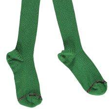 Noro Ribbed Scottish Lisle Cotton Tights Dark green-listing