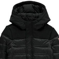 Gertrude + Gaston Little Berthy and Neoprene Hood Jacket Noir-listing