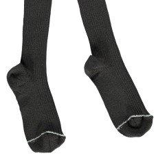 Noro Ribbed Scottish Lisle Cotton Tights Grey-listing
