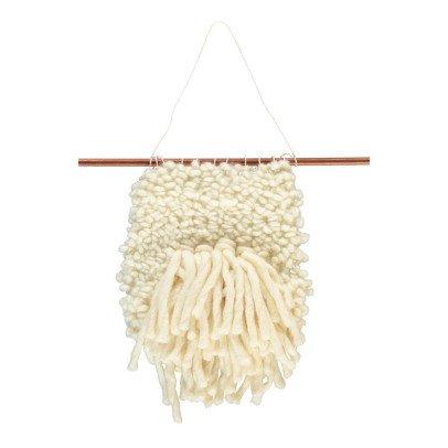 Annabelle Jouot Tissage en laine relief fait main-listing
