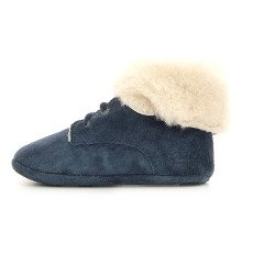 Pom d'Api Suede Sheepskin Turn-Over Top Shoes-listing
