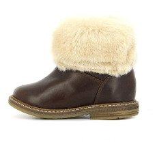 Pom d'Api Boots Cuir Fourrure Retro Chabaraque-listing