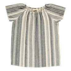 product-Douuod Togata Striped Blouse