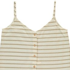 Blune All That Glitters Vest Top with Buttons-listing