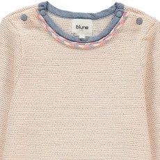 Blune Kids La Vie En Rose Lurex Sweatshirt-product