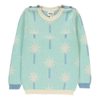 Blune Kids Pullover Palmen Oasis -listing