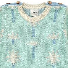 Blune Kids Pullover Palmeras Oasis-listing