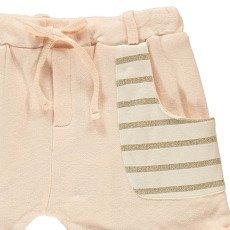 Blune Kids All That Glitters Lurex Striped Fleece Shorts-product