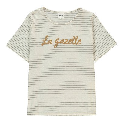Blune Gestreiftes T-Shirt La Gazelle -listing
