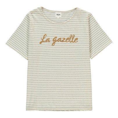 Blune La Gazelle Striped T-Shirt-listing
