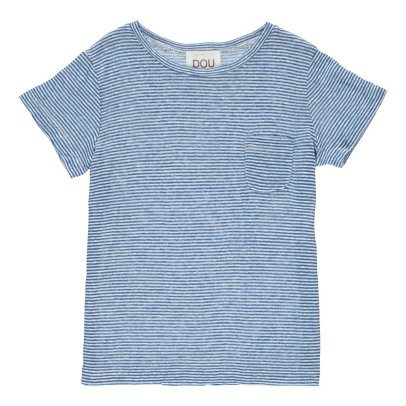 Douuod Interpret Striped Fine T-Shirt-product