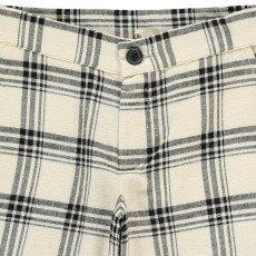 Douuod Bergman Checked Chino Shorts-listing