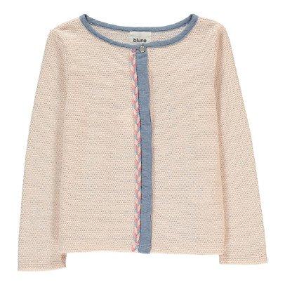 Blune Kids La Vie En Rose Lurex Cardigan-listing