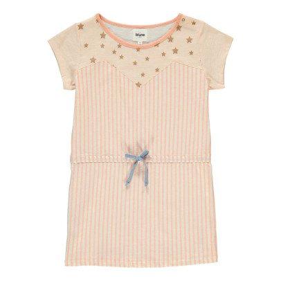 Blune Kids Superpower Star Striped Dress-listing