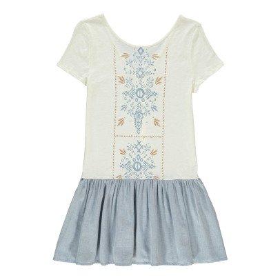 Blune Flower Dress-listing