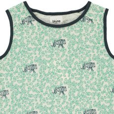 Blune Kids Tiger Leaf Vest Top-listing