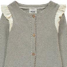 Blune Kids Honeycomb Ruffle Cardigan-listing