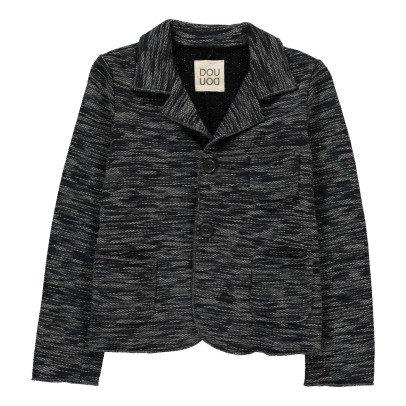 Douuod Montaggio Marl Sweat Jacket-product