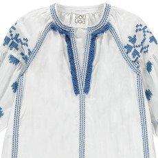 Douuod Kleid mit Stickerei Cortometraggio-listing