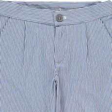 Douuod Loggione Striped Chino Shorts-listing