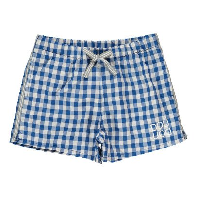 Douuod Logger Checked Swimshorts-listing