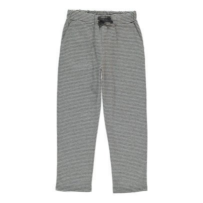Douuod Celluloide Striped Jogging Bottoms-listing