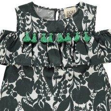 Douuod Kleid Rüschen und Bommel  Kurosawa-listing