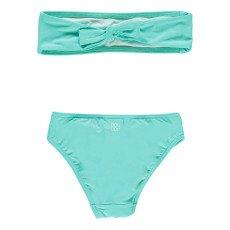 Douuod Cast Floral 2P Bandeau Swimsuit-product