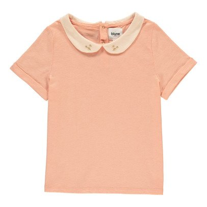 Blune Kids Belle Starr T-Shrit with Peper Pan Collar-listing
