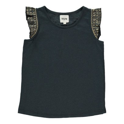 Blune Kids Nomad Lurex Ruffle Top-product