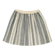 product-Douuod Kubrick Striped Skater Skirt