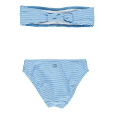 Douuod Customista Striped 2P Bandeau Swimsuit-listing