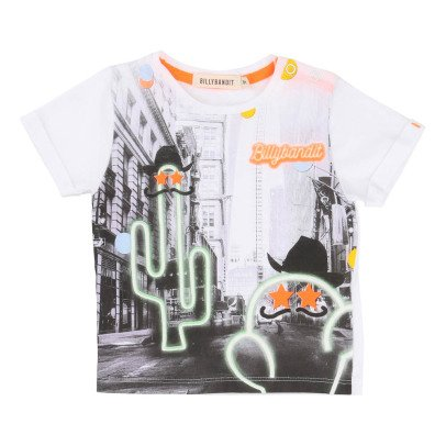 Billybandit City Cactus T-Shirt -listing