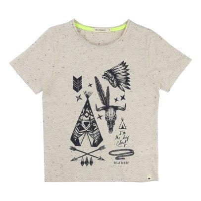 Billybandit T-Shirt meliert Cowboy -listing