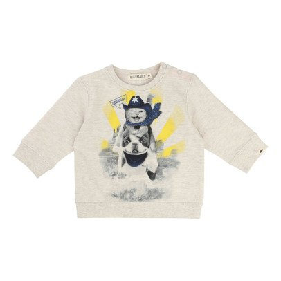Billybandit Sweatshirt Katze Cowboy -listing