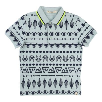 Billybandit Indian Print Polo -listing