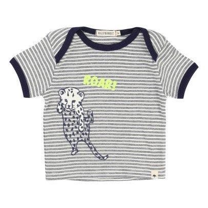 Billybandit T-Shirt Rayé Léopard-listing