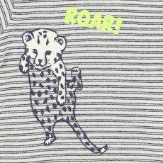Billybandit Striped Leopard T-Shirt -listing