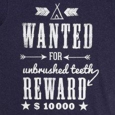 "Billybandit T-Shirt ""Wanted""-listing"