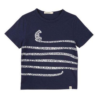 Billybandit Gestreiftes T-Shirt Leopard -listing