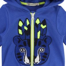 Billybandit Tiger Zipped Hoodie-listing
